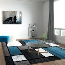 blue and grey area rugs contemporary modern boxes blue grey area rug navy blue and white