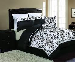 black white duvet sets