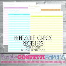 Downloadable Check Register Free Printable Checkbook Register Pdf Luisviol Co