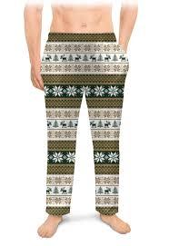Мужские пижамные штаны <b>Скандинавский узор</b> #2678892 ...