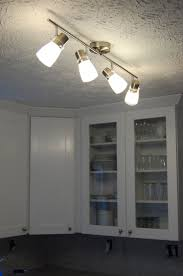 Cheap lowes light fixtures ceiling track lighting and white kitchen