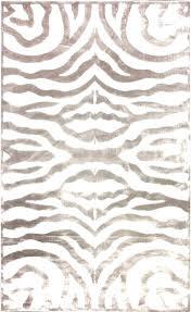 zebra print rug rugs brown area 5 off when you share velvet cream australia