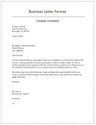 Business Correspondence Letters Examples Types Of Business Correspondence Examples Poporon Co