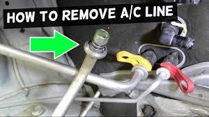 How to <b>Remove</b> A/C LINE on car. <b>AC</b> LINE DISCONNECT <b>TOOL</b> ...