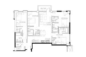 Square Kitchen Floor Plans Floor Plans Square On Fifth Sq5 Student Community In Tech Square