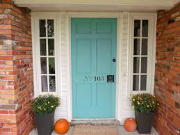 what color to paint front door 2Best 25 Aqua front doors ideas on Pinterest  Teal door Aqua