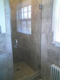 tempered glass shower doors 3 8 or 10mm thick with chrome d handle and hinges