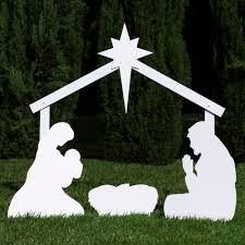 Outdoor Nativity Scene Patterns
