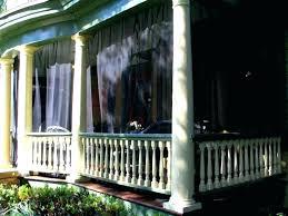 patio screen curtains mosquito netting mesh porch enclosures bug outdoor for door seal ne