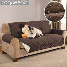 Waterproof Quilted Sofa Couch Covers Cloak Furniture Protector for ... & Waterproof Quilted Sofa Couch Covers Cloak Furniture Protector for Armchair  Loveseat Sofa Chair Slipcovers for Dogs Adamdwight.com