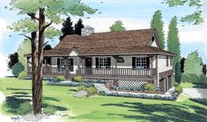 House Plan at FamilyHomePlans comCountry Ranch House Plan Elevation