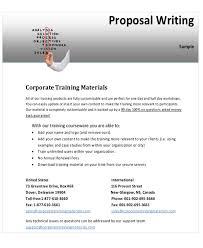 10 Sample Training Proposal Letters Pdf Word Sample Templates