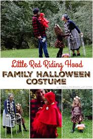 red riding hood family halloween