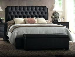 Bed Frame Cushion Design Platform With Upholstered Headboard Wood ...