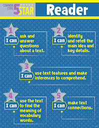 Common Core Chart Ctp6378 5 Star Reader Common Core Chart Gr 3 5
