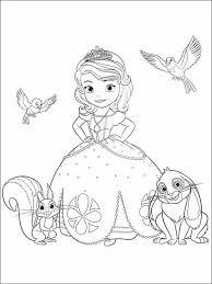 Prinses Sofia Kleurplaat Kleurplaten Sofia Het Prinsesje 4