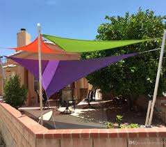 2018 triangel shade sail sun shelter 36m x uv block top outdoor canopy patio cloth can