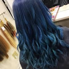 派手髪 オーシャンブルー グラデーションbeee Hair Salon所属ryota