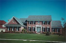 4 bedroom 2957 sq ft colonial style home design with