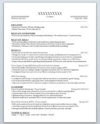 Resume Samples For High School Students With No Experience The