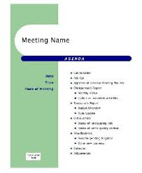 Sample Agenda For Business Meeting - Google Search | Instructional ...
