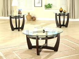 glass coffee table with wood base round glass coffee table metal base awesome round glass coffee