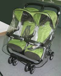 peg perego aria twin and 60 40 twin stroller rain shield weather and wind cover