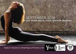 yoga loft offers yoga teacher