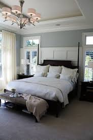 wall colors for dark furniture. Master Bedroom Colors With Dark Wood Furniture Including Satin Nickel Ring Pulls Adhered On Small Bedside Wall For
