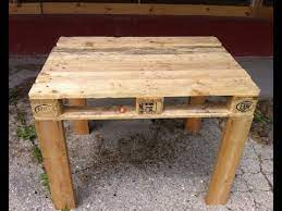 pallet table easy to make diy you