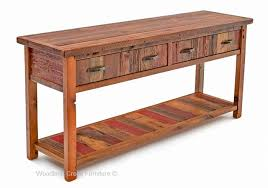 Vintage wooden furniture Valuable Cottage Sofa Table In Antique Woods Bksgroupme Barn Wood Sofa Table Vintage Wood Sofa Table Painted