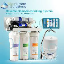 water purifier. MS 5 Stage RO Water Filter System For Household Reverse Osmosis Purifier Drinking 50 GPD Kitchen-in Filters From Home