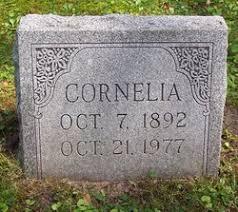 Cornelia Hamm (1891-1977) - Find A Grave Memorial