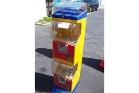 Tomy Gacha Vending Machine Delectable TOMY GACHA SINGLE COLUMN CAPSULE VENDING MACHINE Item Is In Used