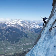 North face of the eiger 1938 route. Behind The Scenes With Mammut S Incredible 360 Photos Of Eiger North Face Climbing Magazine