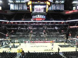 At T Center Section 122 San Antonio Spurs Rateyourseats Com