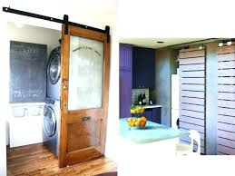 sliding door laundry room large barn on wood collection interior doors entry a ideas sliding laundry room doors