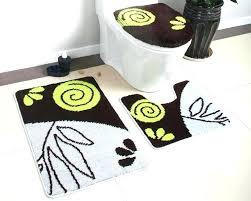 3 piece bathroom rug set goods brief target