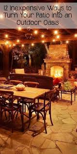 inexpensive lighting ideas. Outdoor Lights Ideas New 12 Inexpensive Ways To Turn Your Patio Into An Oasis Lighting O