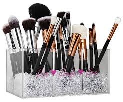 brush holder beads. amazon.com: makeup brush holder \u0026 organizer with diamond beads: make your vanity look special now !: home kitchen beads