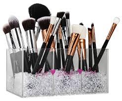 brush holder beads. amazon.com: makeup brush holder \u0026 organizer with diamond beads: make your vanity look special now !: home kitchen beads