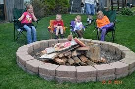 patio fire pit ideas construction
