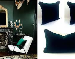 green velvet pillow. Emerald Green Velvet Pillow Cases .