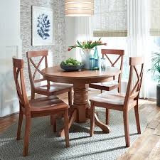 amazon home styles 5179 30 round dining table with pedestal base cote oak finish 42 inch by 30 inch tables