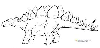 Disegni Degli Animali Prestorici Dinosauri Da Stampare E Colorare
