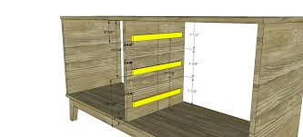 wooden drawer slides plans designs