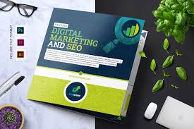 Seo & Digital Marketing Agency Tri-Fold Brochure - Corporate ...