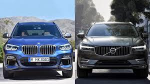 BMW 3 Series xc60 vs bmw x3 : 2018 BMW X3 VS 2018 Volvo XC60 - YouTube