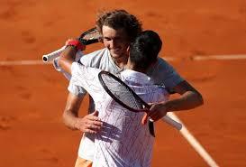 The winner will play stefanos tsitsipas or alexander zverev in sunday's final. Alexander Zverev Ich Mochte Nicht Mehr Gegen Novak Djokovic Spielen