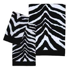 black and white bath towels. Creative Bath Zebra 3-Piece 100% Cotton Towel Set In Black/White-TP1050BHW - The Home Depot Black And White Towels N